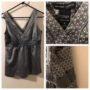 Size 4 New York & Company silky top